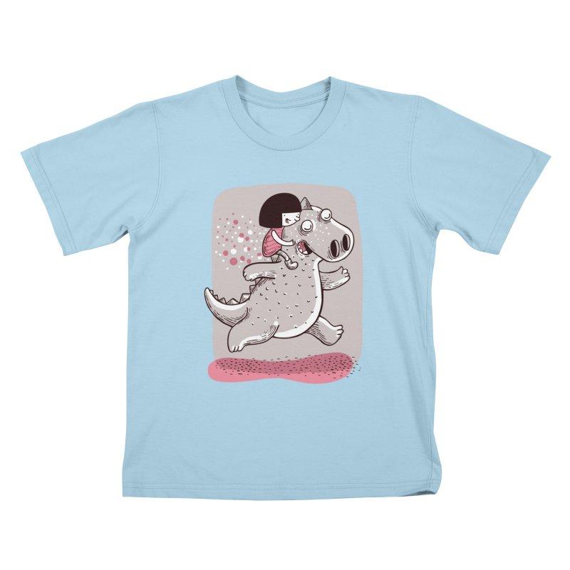 Día libre Kids T-Shirt by montt's Artist Shop