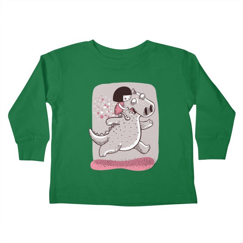 Día libre Kids Toddler Longsleeve T-Shirt by montt's Artist Shop