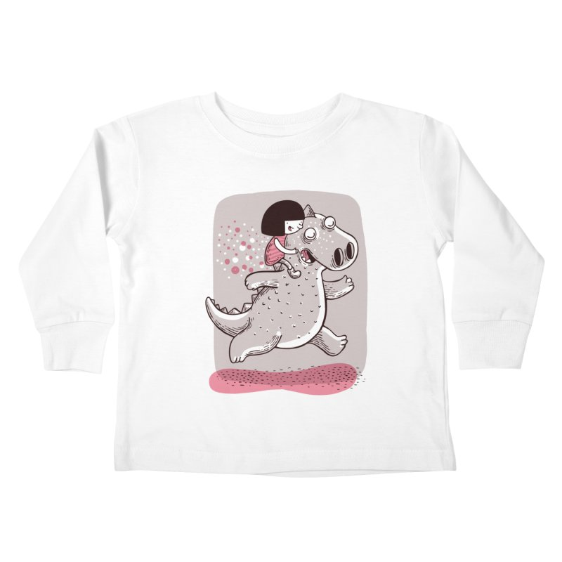 Día libre Kids Toddler Longsleeve T-Shirt by montt's Artist Shop