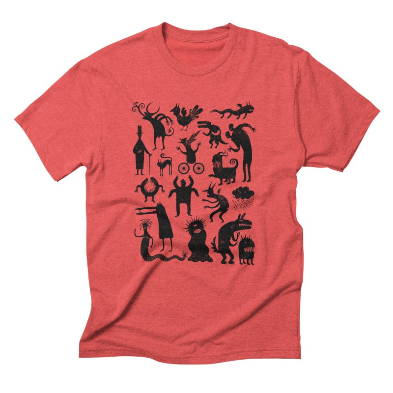 Manual de demonología Men's Triblend T-shirt by montt's Artist Shop