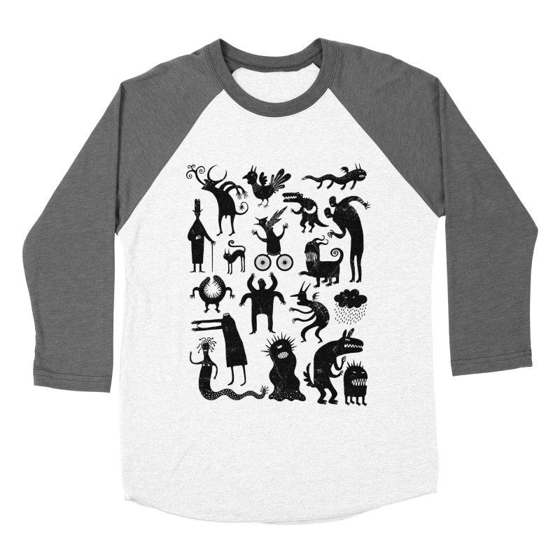 Manual de demonología Women's Baseball Triblend T-Shirt by montt's Artist Shop