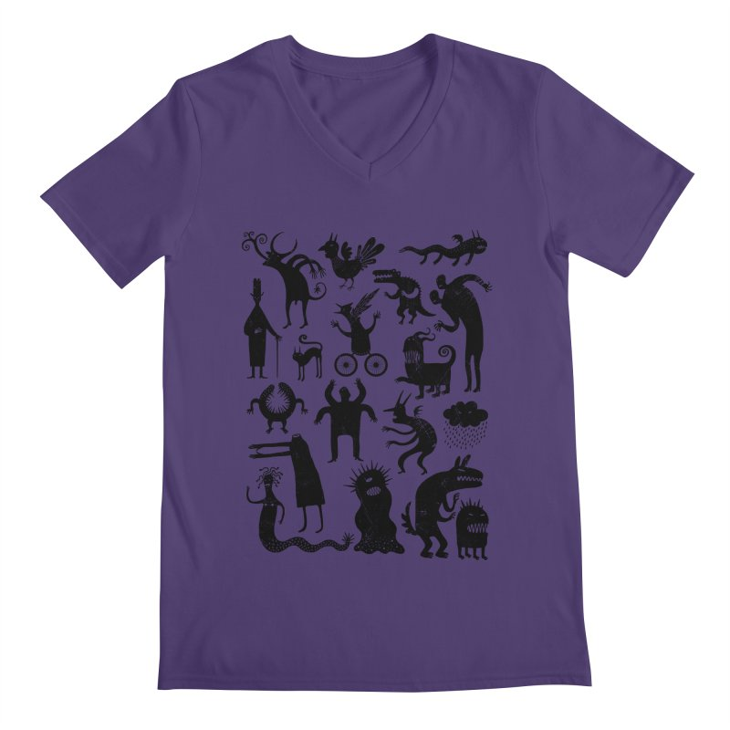 Manual de demonología Men's V-Neck by montt's Artist Shop