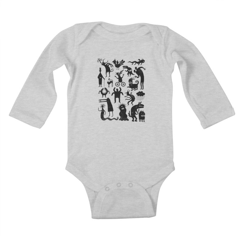 Manual de demonología Kids Baby Longsleeve Bodysuit by montt's Artist Shop
