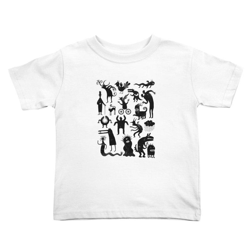 Manual de demonología Kids Toddler T-Shirt by montt's Artist Shop