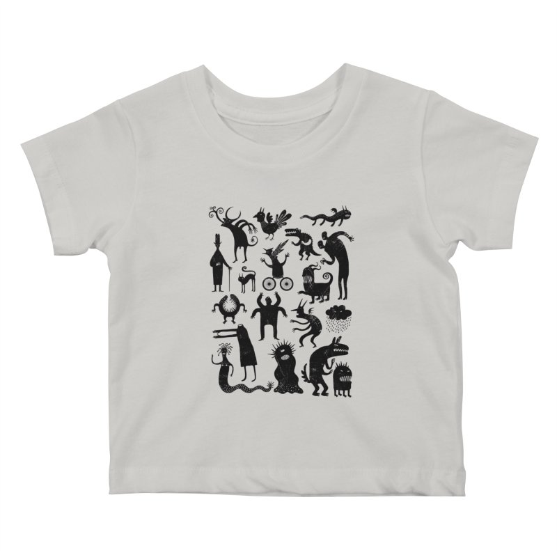 Manual de demonología Kids Baby T-Shirt by montt's Artist Shop