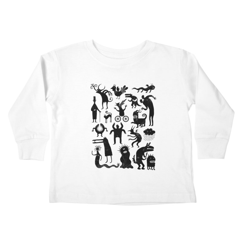 Manual de demonología Kids Toddler Longsleeve T-Shirt by montt's Artist Shop