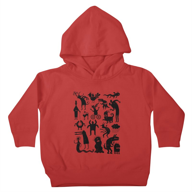 Manual de demonología Kids Toddler Pullover Hoody by montt's Artist Shop