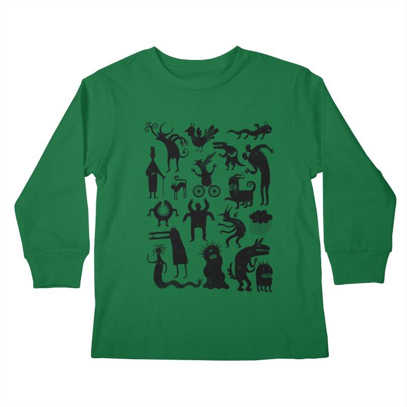 Manual de demonología Kids Longsleeve T-Shirt by montt's Artist Shop