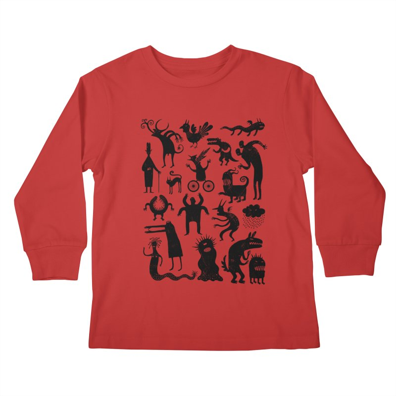 Manual de demonología Kids Longsleeve T-Shirt by montt's Artist Shop