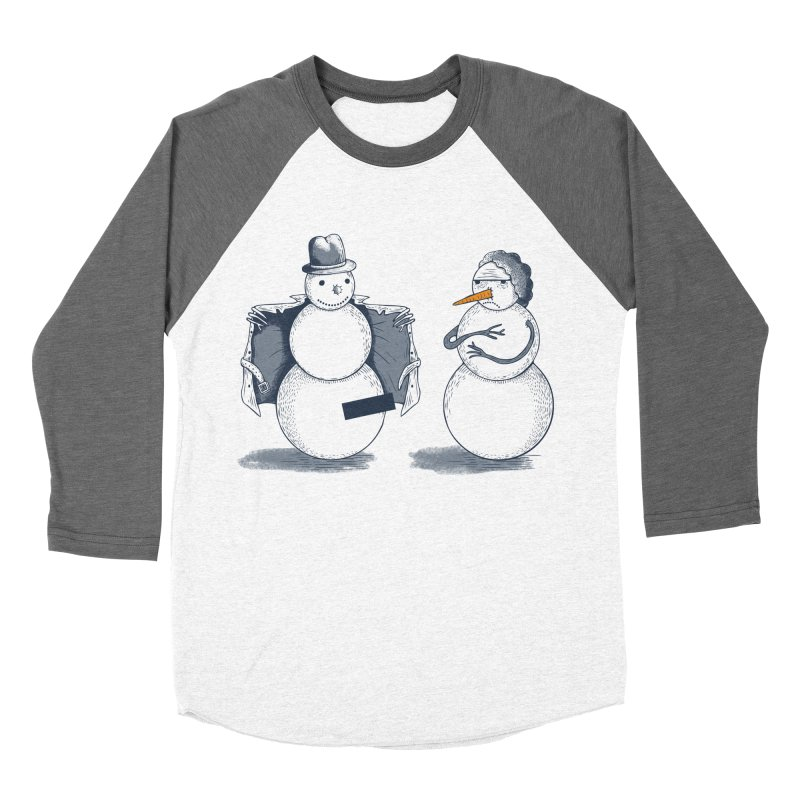 Hombre de fuego Women's Baseball Triblend T-Shirt by montt's Artist Shop
