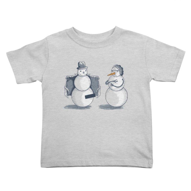 Hombre de fuego Kids Toddler T-Shirt by montt's Artist Shop