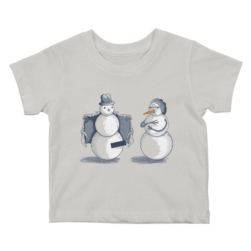 Hombre de fuego Kids Baby T-Shirt by montt's Artist Shop