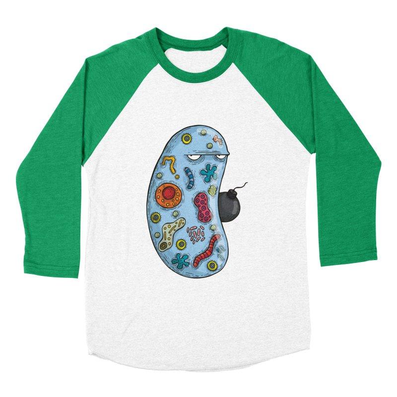 Célula terrorista Women's Baseball Triblend T-Shirt by montt's Artist Shop