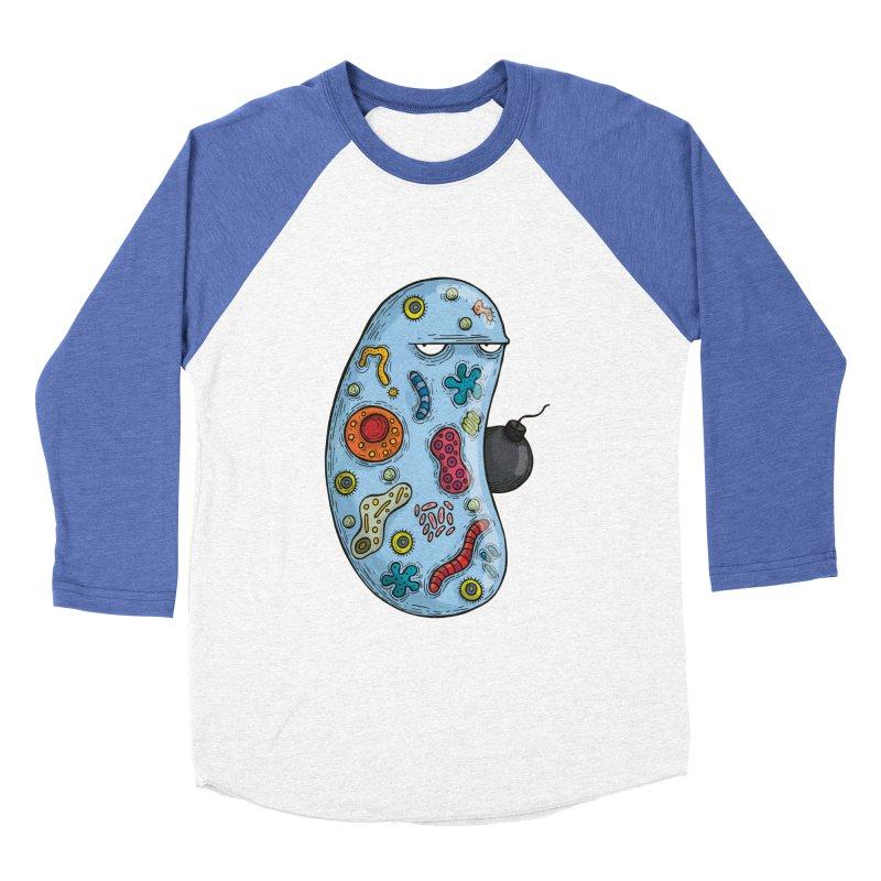 Célula terrorista Men's Baseball Triblend T-Shirt by montt's Artist Shop