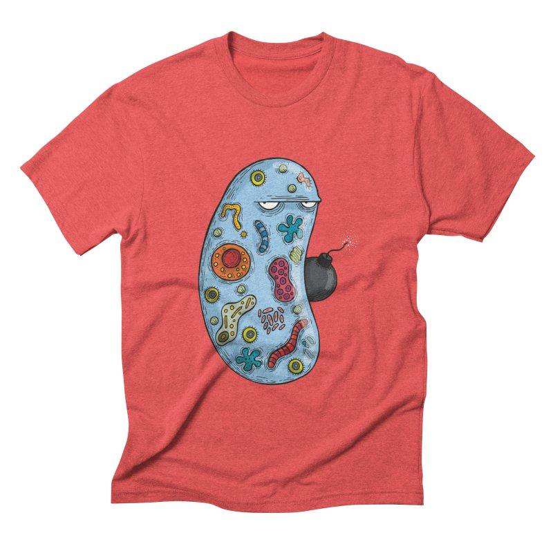 Célula terrorista Men's Triblend T-shirt by montt's Artist Shop