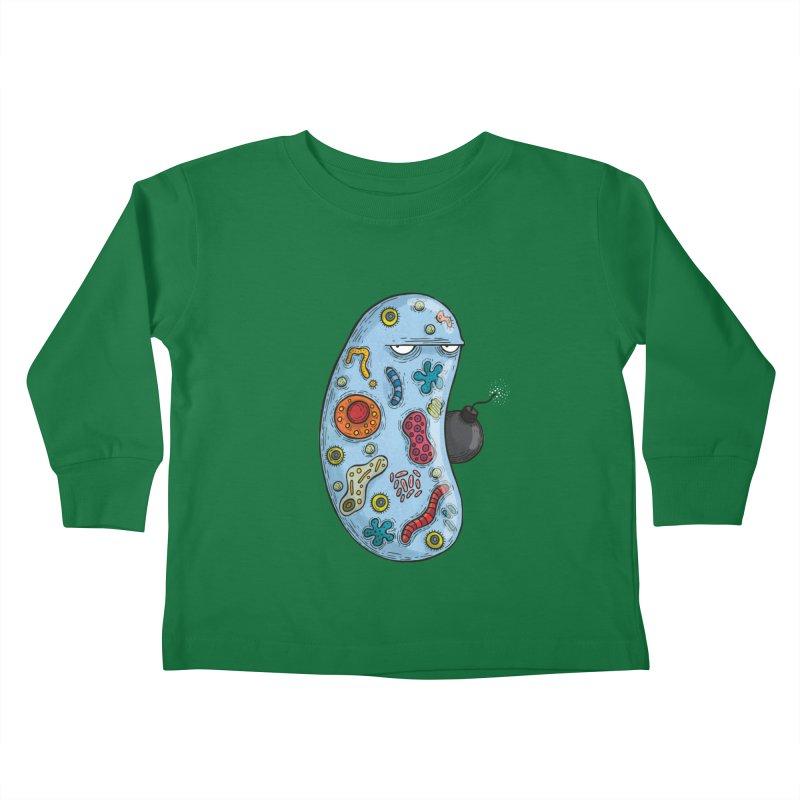 Célula terrorista Kids Toddler Longsleeve T-Shirt by montt's Artist Shop