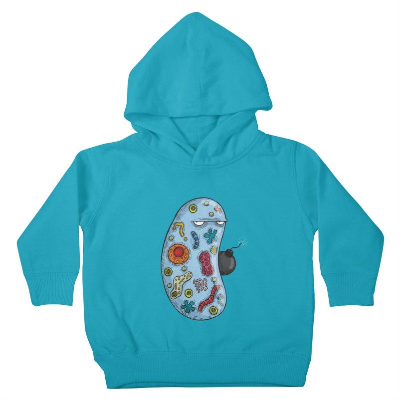 Célula terrorista Kids Toddler Pullover Hoody by montt's Artist Shop