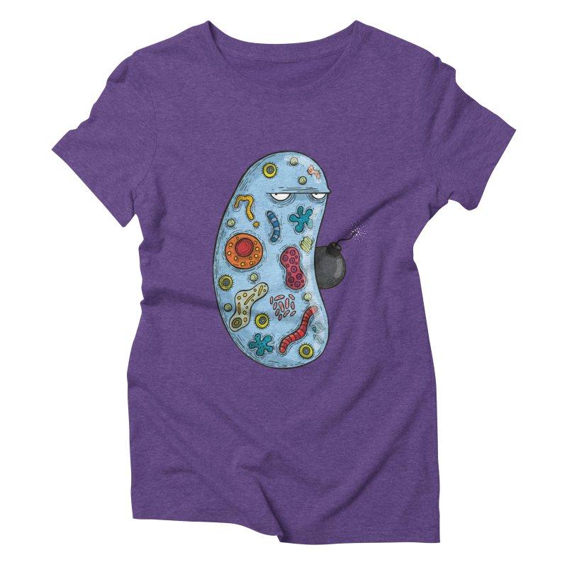 Célula terrorista Women's Triblend T-Shirt by montt's Artist Shop