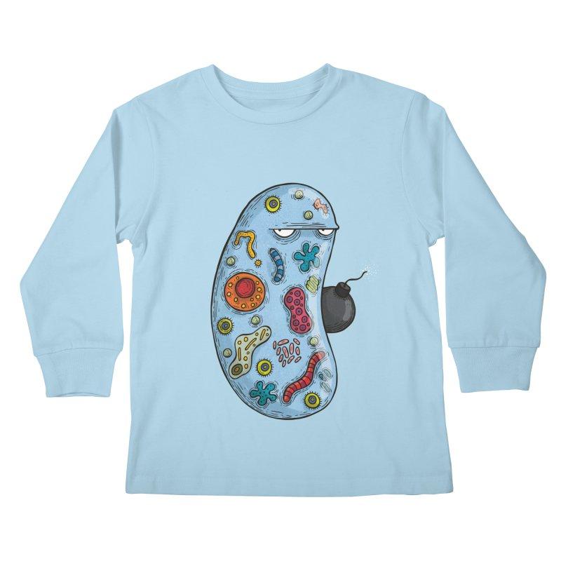 Célula terrorista Kids Longsleeve T-Shirt by montt's Artist Shop