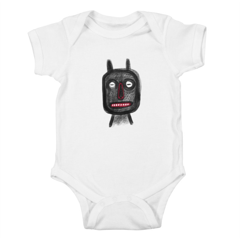 Diábolo 2 Kids Baby Bodysuit by montt's Artist Shop