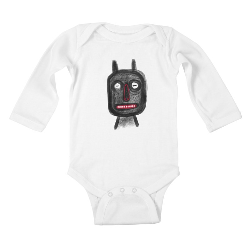 Diábolo 2 Kids Baby Longsleeve Bodysuit by montt's Artist Shop
