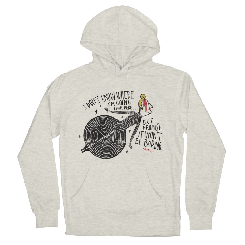 Bowie Men's Pullover Hoody by montt's Artist Shop