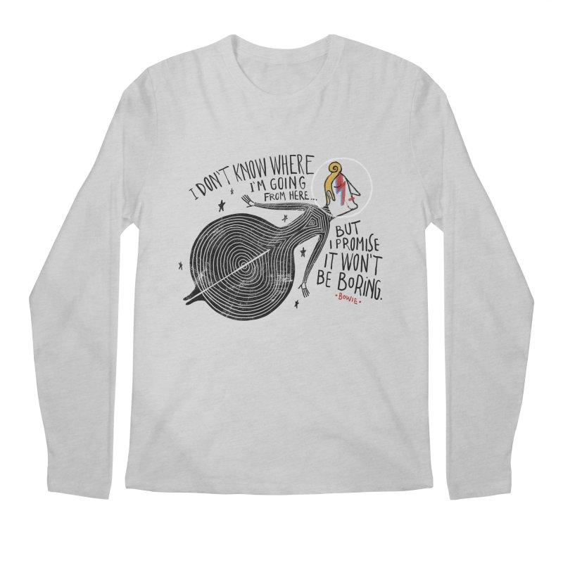 Bowie Men's Longsleeve T-Shirt by montt's Artist Shop