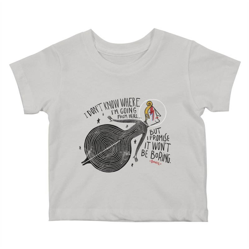 Bowie Kids Baby T-Shirt by montt's Artist Shop