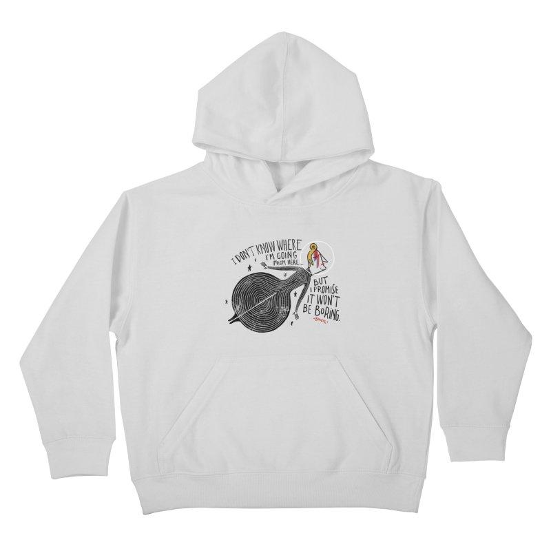 Bowie Kids Pullover Hoody by montt's Artist Shop