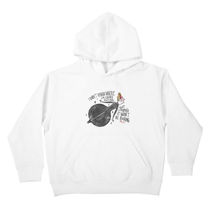 Bowie Kids Pullover Hoody by montt's Artist Shop