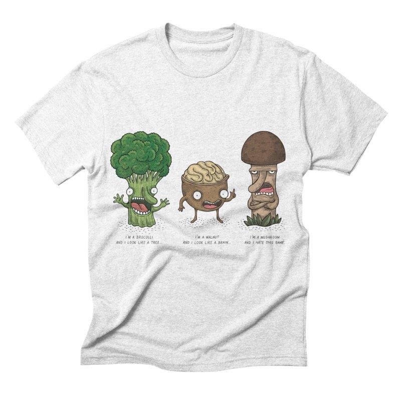Honguito Men's Triblend T-shirt by montt's Artist Shop