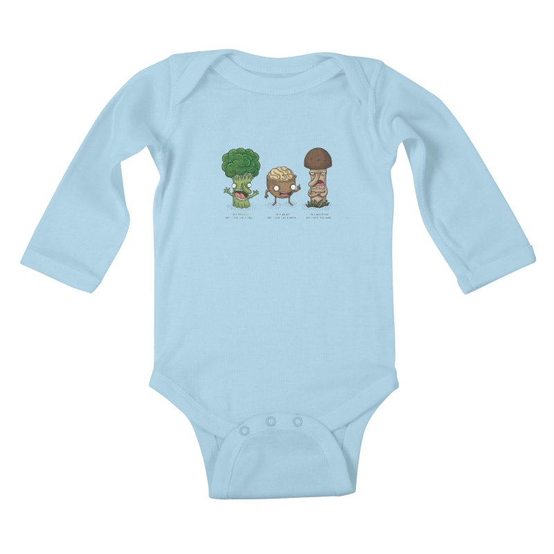 Honguito Kids Baby Longsleeve Bodysuit by montt's Artist Shop