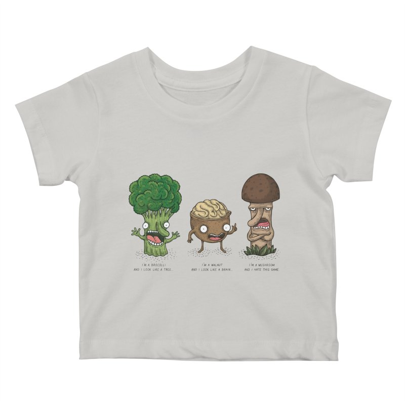 Honguito Kids Baby T-Shirt by montt's Artist Shop