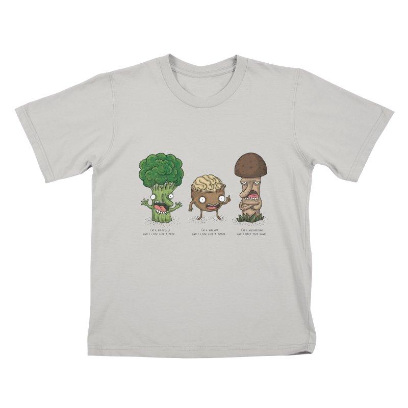 Honguito Kids T-Shirt by montt's Artist Shop