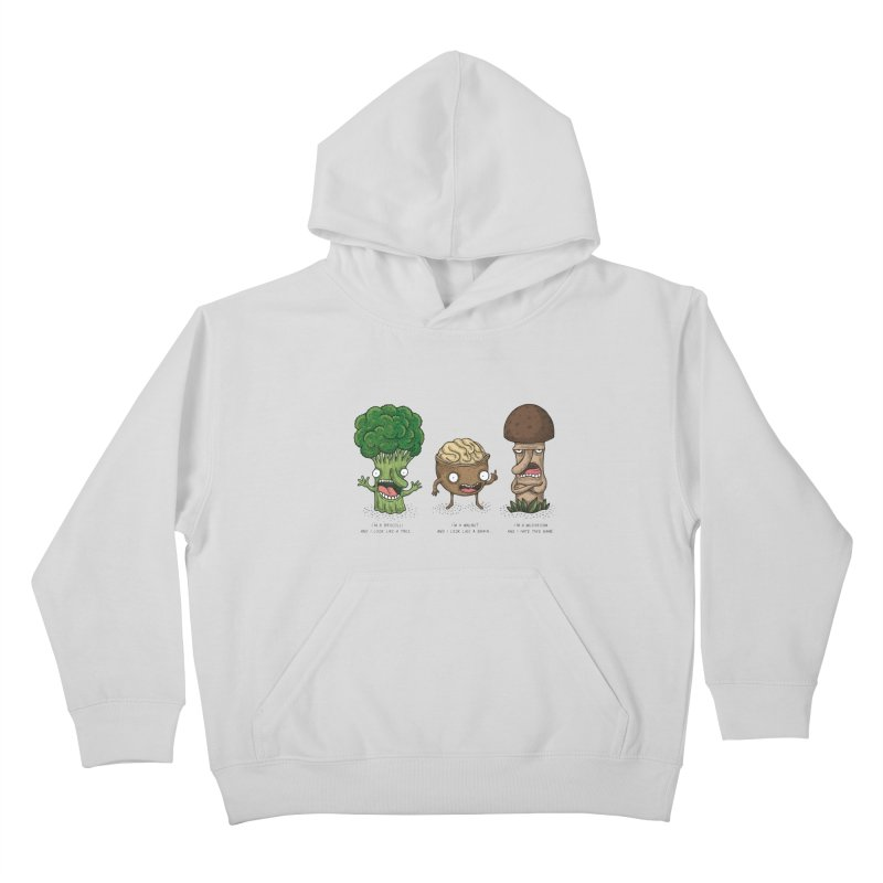 Honguito Kids Pullover Hoody by montt's Artist Shop