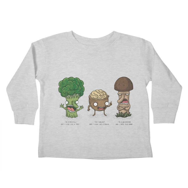 Honguito Kids Toddler Longsleeve T-Shirt by montt's Artist Shop