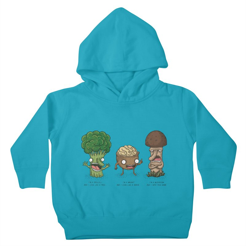 Honguito Kids Toddler Pullover Hoody by montt's Artist Shop
