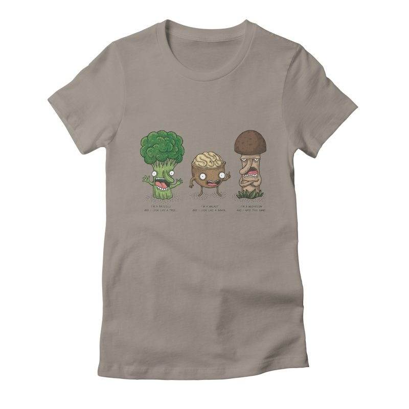 Honguito Women's Fitted T-Shirt by montt's Artist Shop