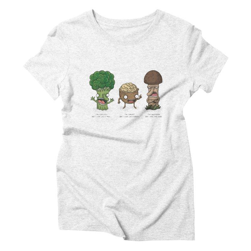 Honguito Women's Triblend T-shirt by montt's Artist Shop