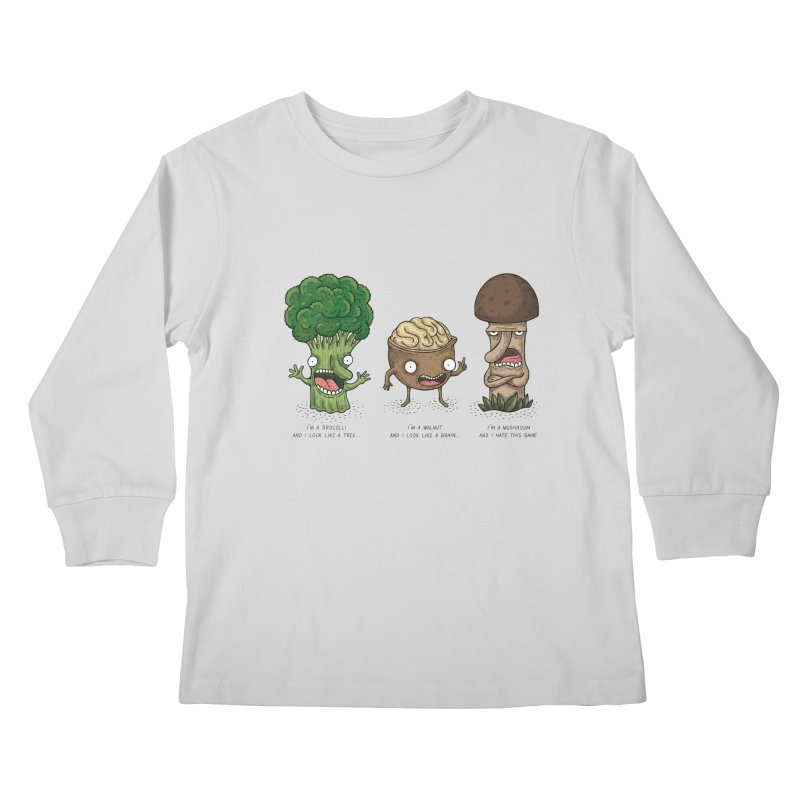 Honguito Kids Longsleeve T-Shirt by montt's Artist Shop