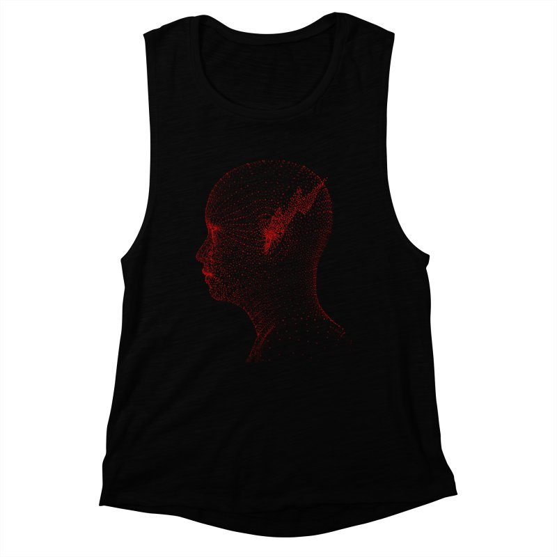 The Messenger Women's Muscle Tank by ZWOONT!