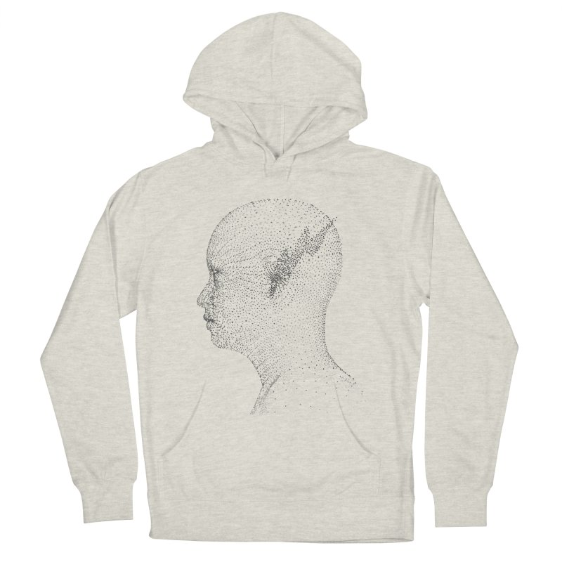 The Messenger BW Men's French Terry Pullover Hoody by ZWOONT!