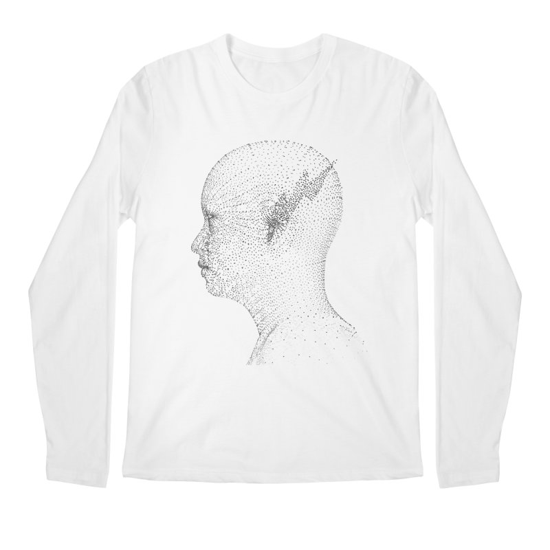 The Messenger BW Men's Longsleeve T-Shirt by ZWOONT!