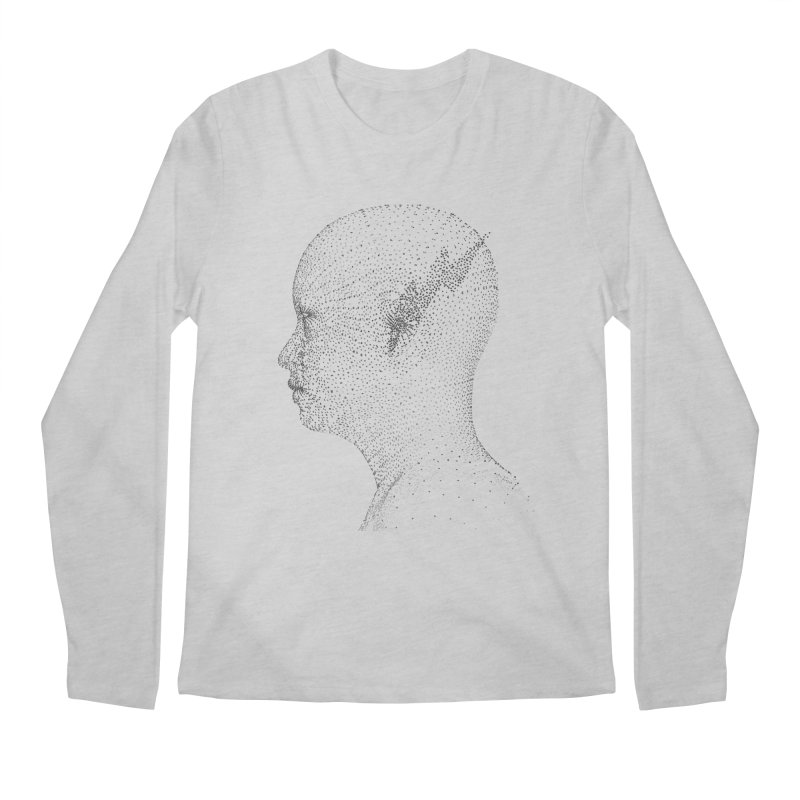 The Messenger BW Men's Longsleeve T-Shirt by ZWOONT!