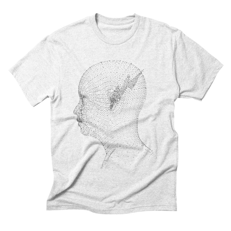 The Messenger BW Men's Triblend T-shirt by ZWOONT!