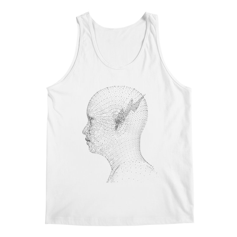 The Messenger BW Men's Tank by ZWOONT!