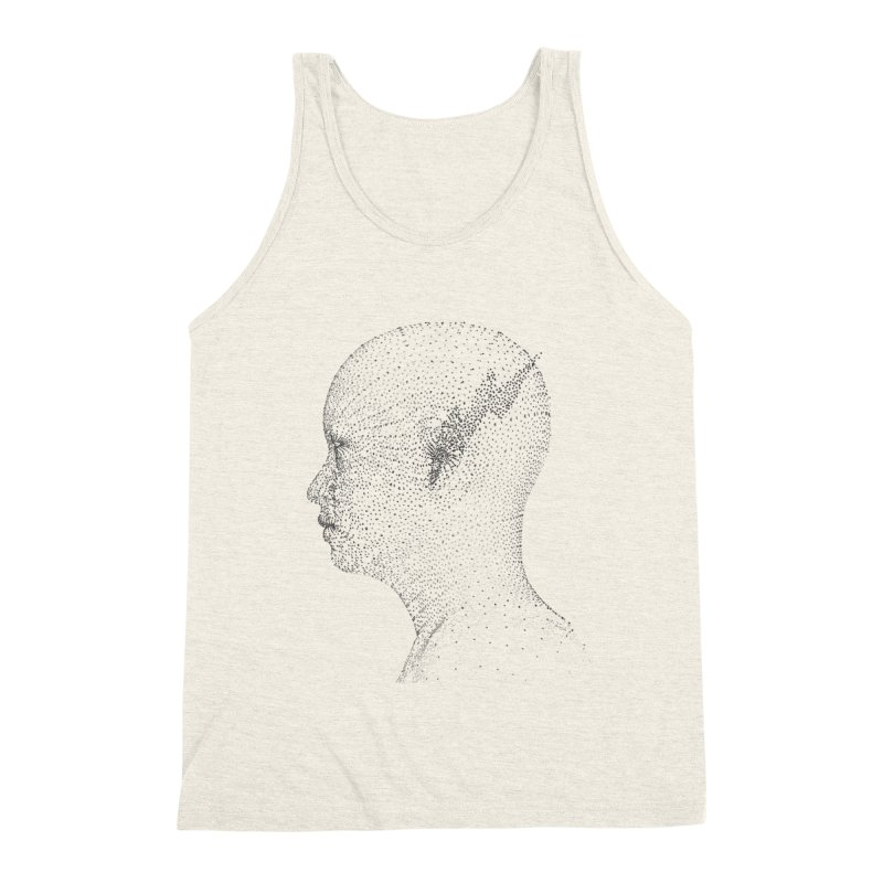 The Messenger BW Men's Triblend Tank by ZWOONT!