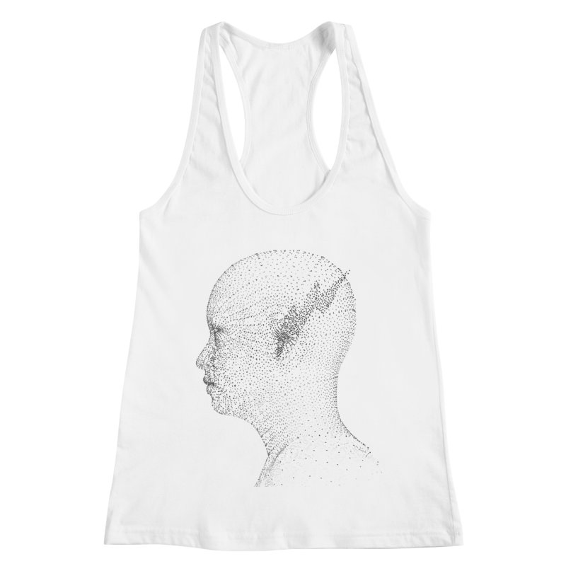 The Messenger BW Women's Racerback Tank by ZWOONT!