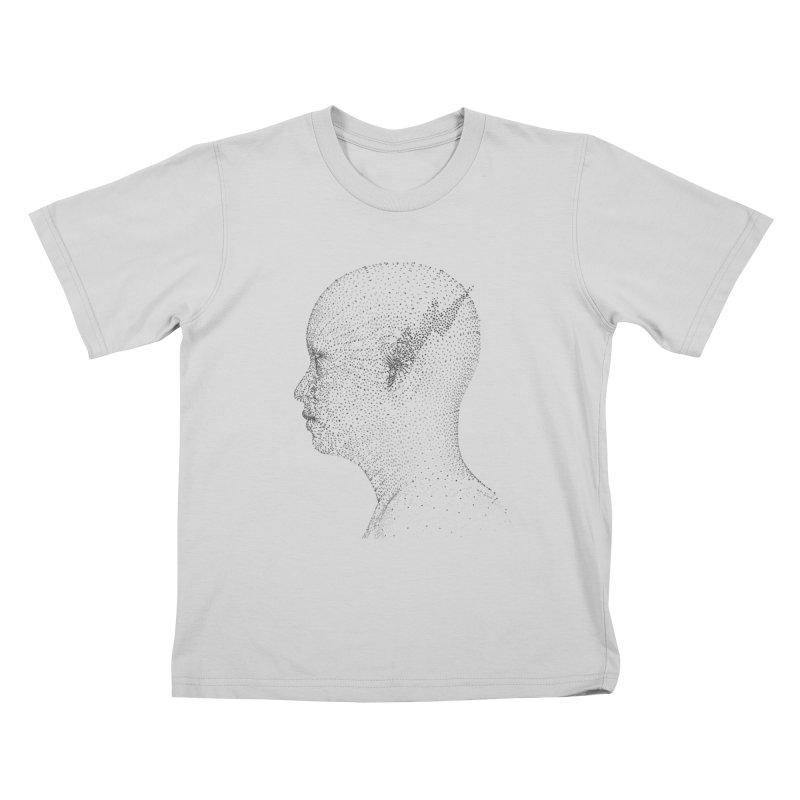 The Messenger BW Kids T-Shirt by ZWOONT!