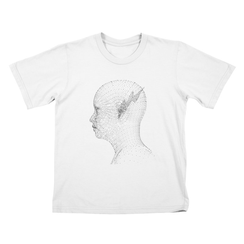 The Messenger BW Kids T-shirt by ZWOONT!